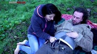 سكس فوت فيتش مع شاب يلحس قدم حبيبته و يستمني في الخلاء xxx أنبوب عربي